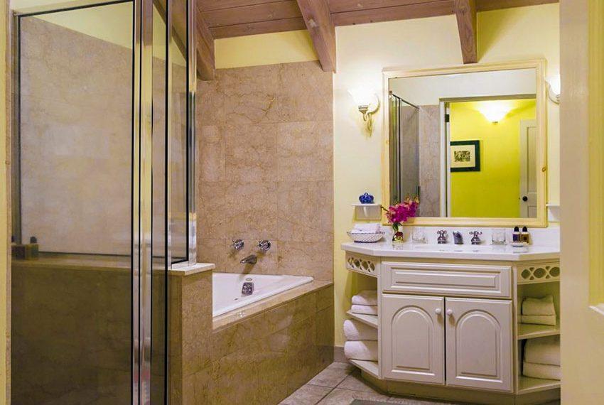 palm grove villa poinsettia nevis eerste en suite badkamer wereldwijdleven