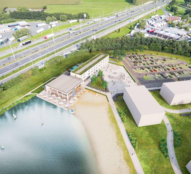 ibis budget hotel brugge jabbeke luchtfoto wereldwijdleven