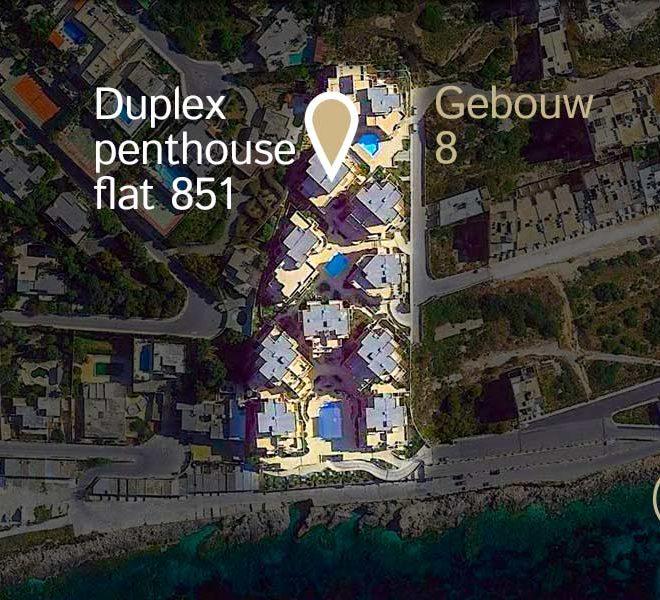 locatie duplex penthouse flat 851 tas sellum residentie mellieha wereldwijdleven