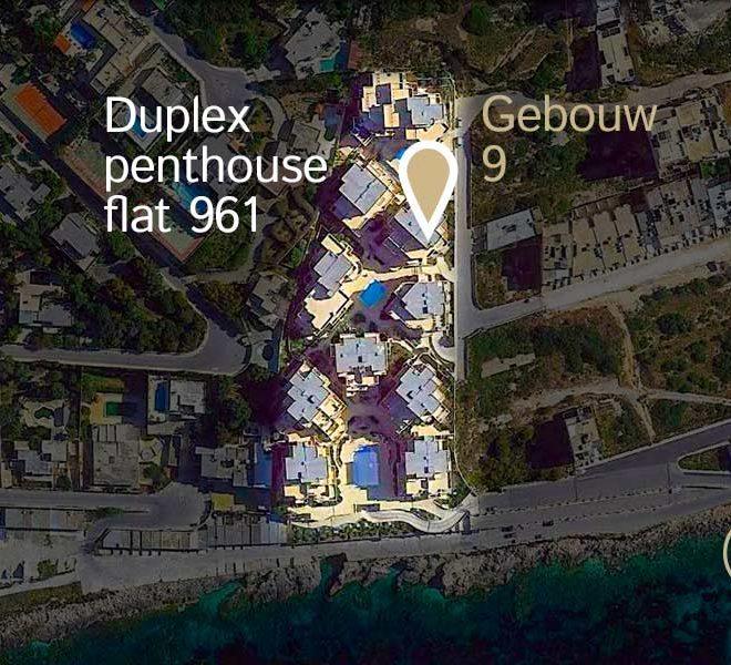 locatie duplex penthouse flat 961 tas sellum residentie mellieha wereldwijdleven