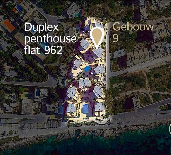 locatie duplex penthouse flat 962 tas sellum residentie mellieha wereldwijdleven