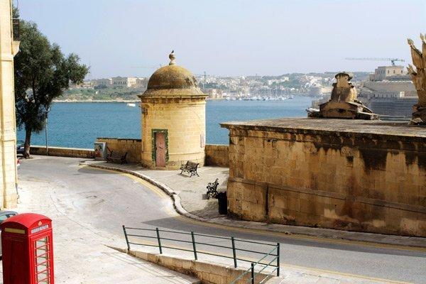 malta oud kolonie verenigd koninkrijk valletta zicht op grand harbour
