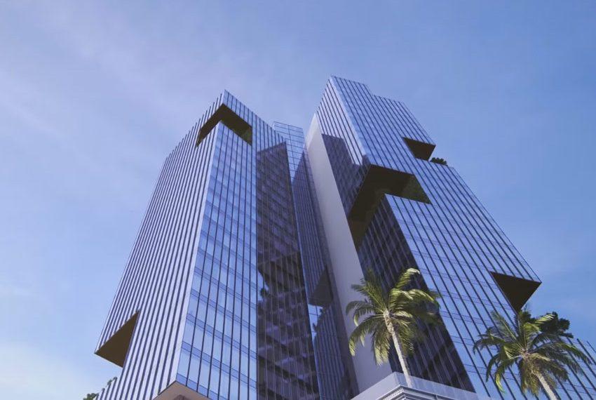 millennium place hotel dubai buitenzijde vanop straat wereldwijdleven