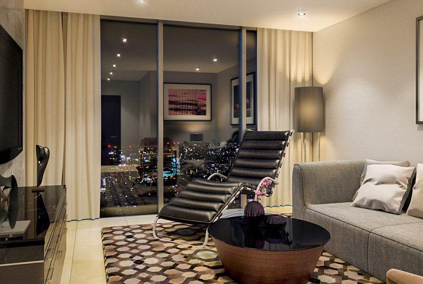millennium place hotel dubai leefruimte avond wereldwijdleven