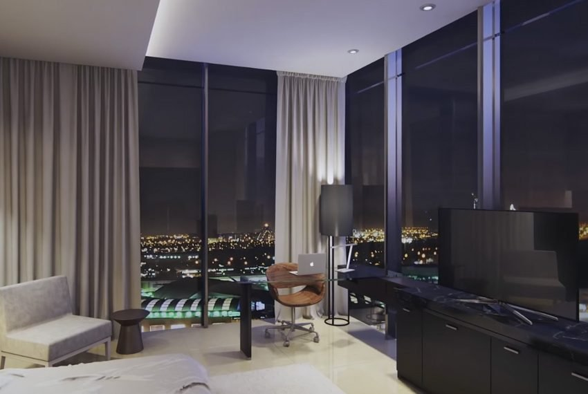 millennium place hotel dubai slaapkamer bureau hoek uitzicht wereldwijdleven