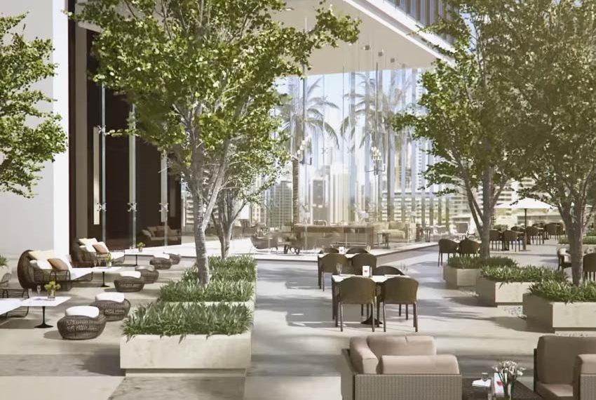 millennium place hotel dubai terras bomen wereldwijdleven