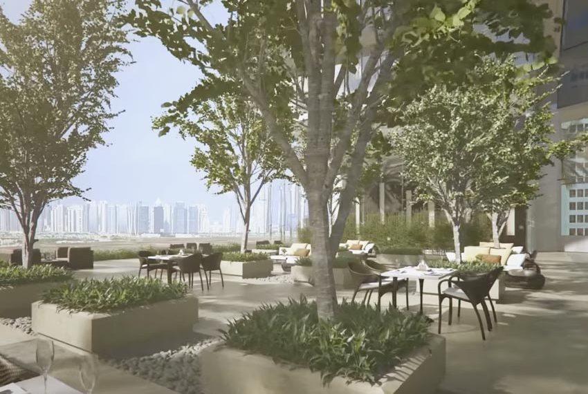 millennium place hotel dubai terras uitzicht wereldwijdleven