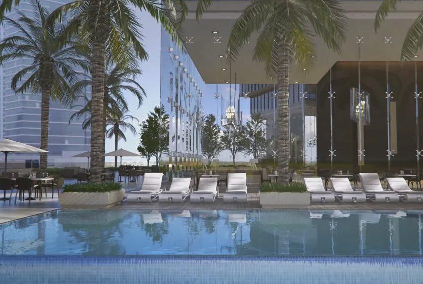 millennium place hotel dubai zwembad terras wereldwijdleven