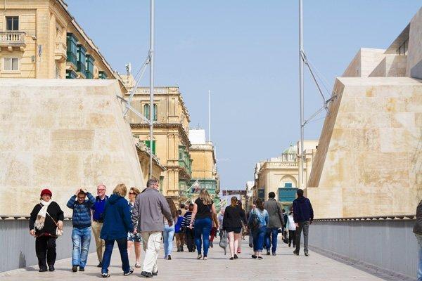 stadspoort valletta cultuur unieke stad malta
