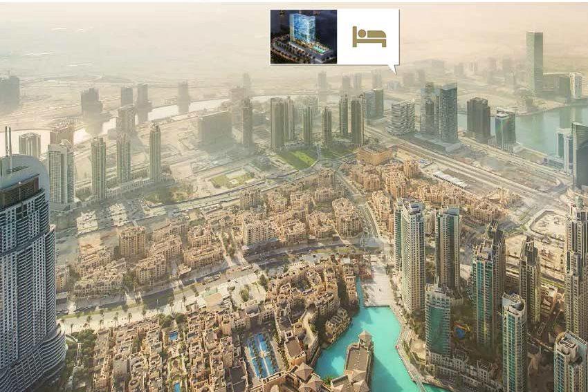 business bay hotel vanaf burj khalifa investeren in dubai wereldwijd leven
