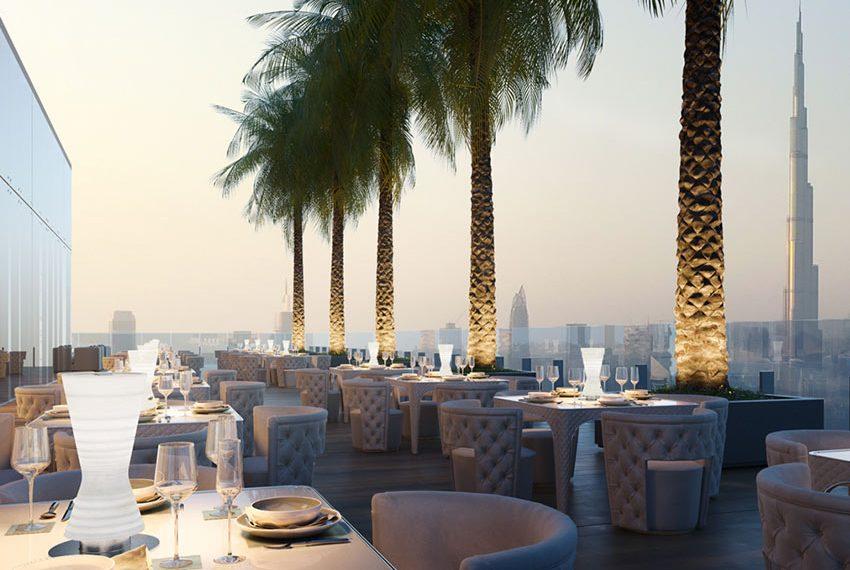dakterras hotel prachtig zicht investeren in dubai wereldwijd leven