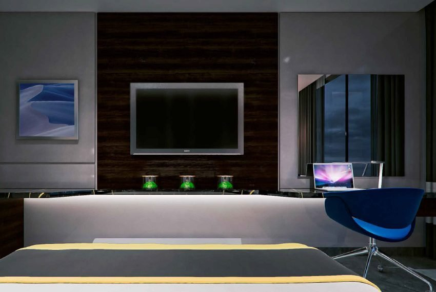 deluxe suite hotelkamer vanaf bed investeren in dubai wereldwijd leven