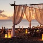 dineren strand four seasons vastgoed nevis wereldwijdleven