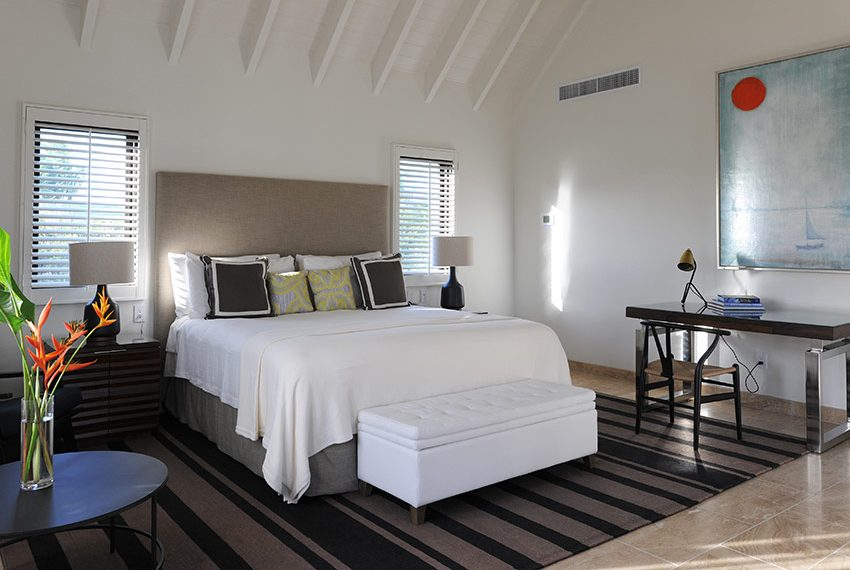 gasthuis slaapkamer pinneys beach villas four seasons vastgoed nevis wereldwijdleven