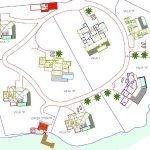 grondplan project exclusieve villas in grenada te koop
