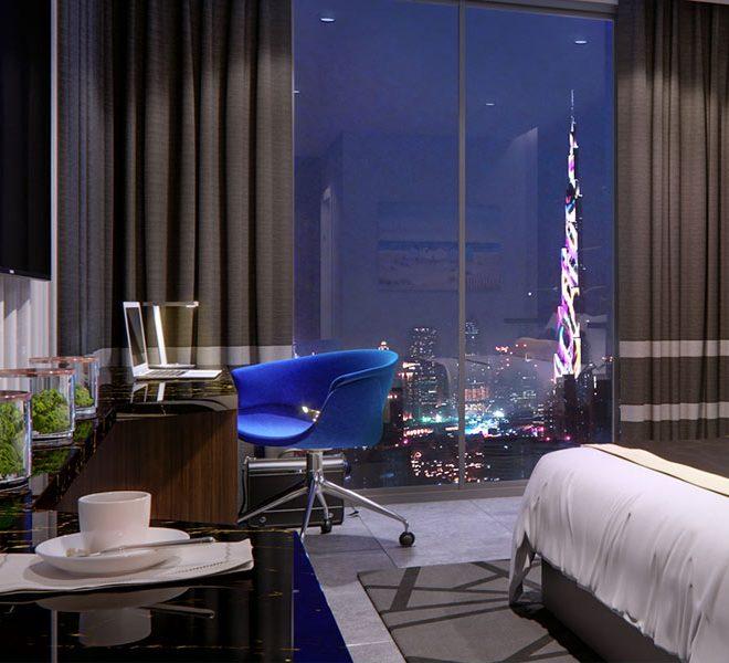 imperial suite hotelkamer investeren in dubai wereldwijd leven