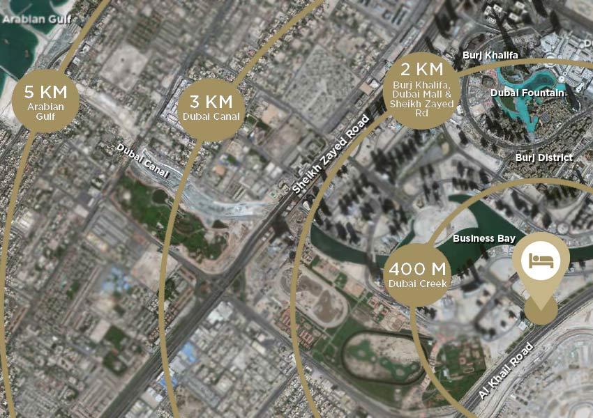 locatie hotel business bay investeren in dubai wereldwijd leven