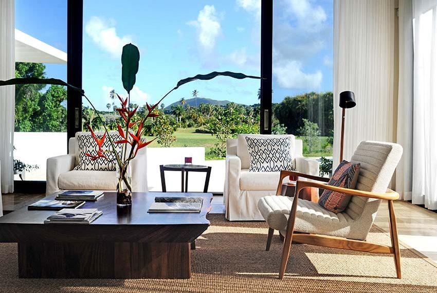 open leefruimte pinneys beach villas four seasons vastgoed nevis wereldwijdleven