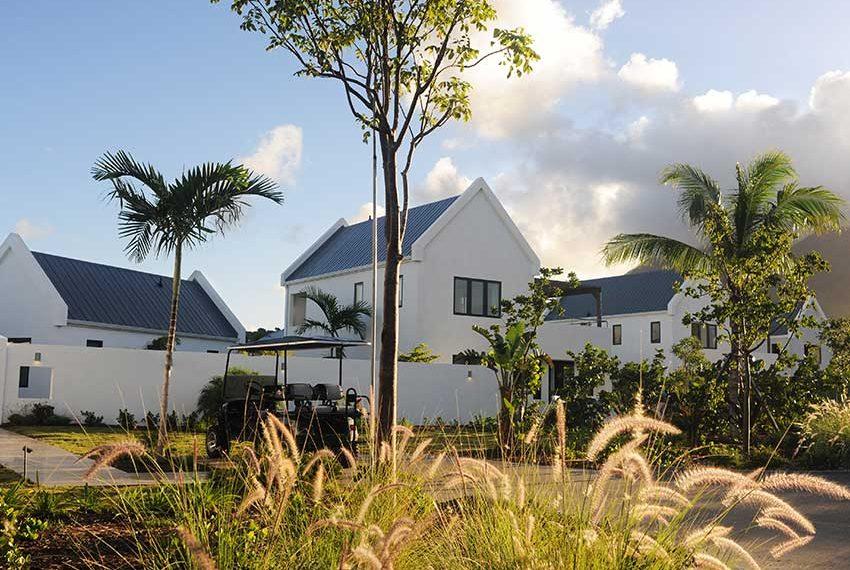 oprit golfkar pinneys beach villas four seasons vastgoed nevis wereldwijdleven