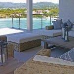 veranda van een villa beleggingsvastgoed prachtig uitzicht grenada