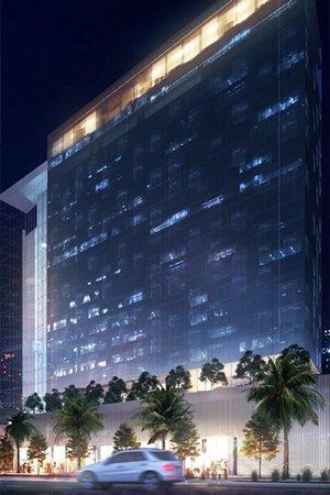 verlicht hotel straat investeren in dubai wereldwijd leven