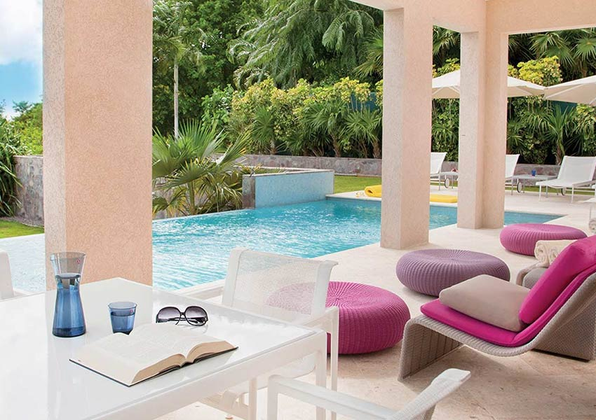 zwembad poinciana estates bouwgronden four seasons vastgoed nevis wereldwijdleven