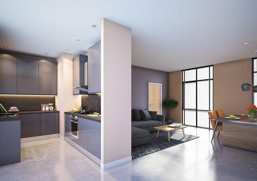 duplex flat 2 slaapkamers investeringsvastgoed in liverpool