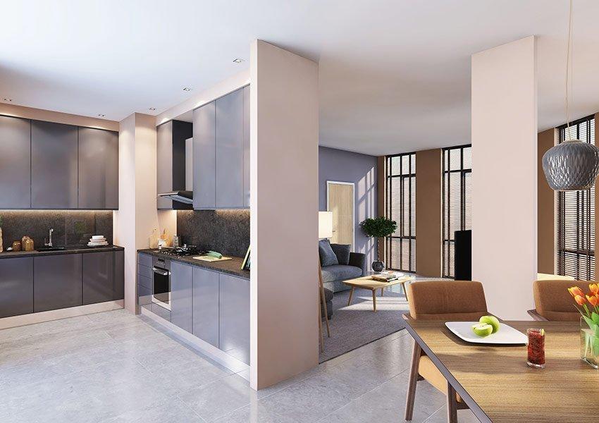 duplex flat 3 slaapkamers investeringsvastgoed in liverpool
