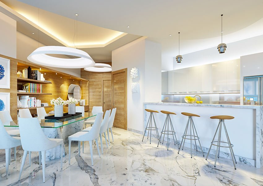 Vk Design Keukens : Appartement met zeezicht te koop in de dominicaanse republiek