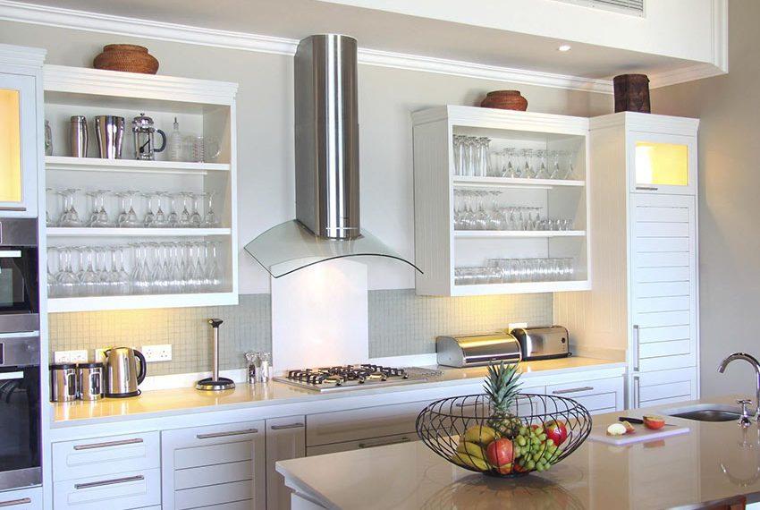 moderne keuken eden island luxevilla wereldwijd leven