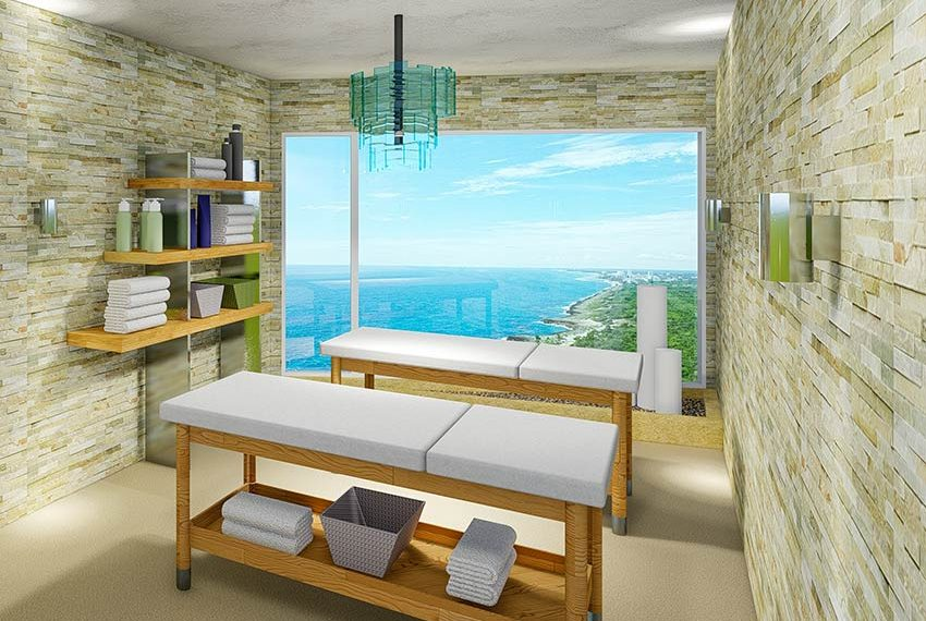 spa en ontspanningsruimte in condominium hotel dominicaanse republiek