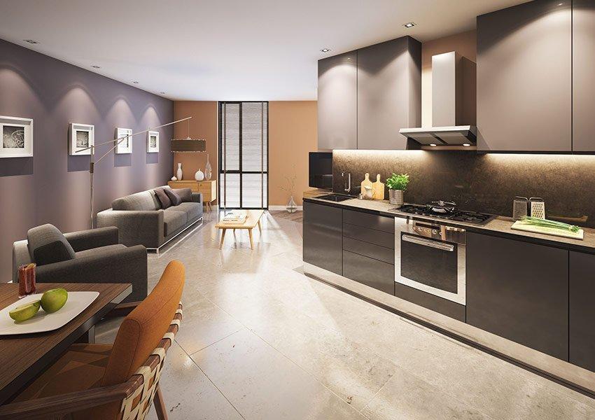toegankelijke flat 1 slaapkamer investeringsvastgoed in liverpool