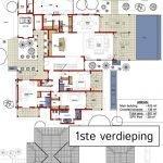 villa type 2 grondplan eden island luxevilla