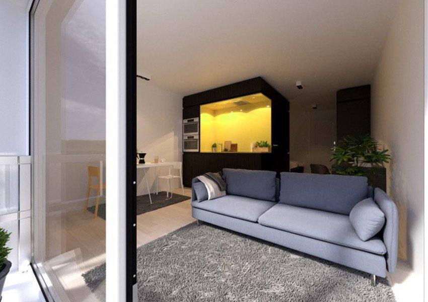 leefruimte opbrengsteigendom perfect voor studenten studio kopen leuven
