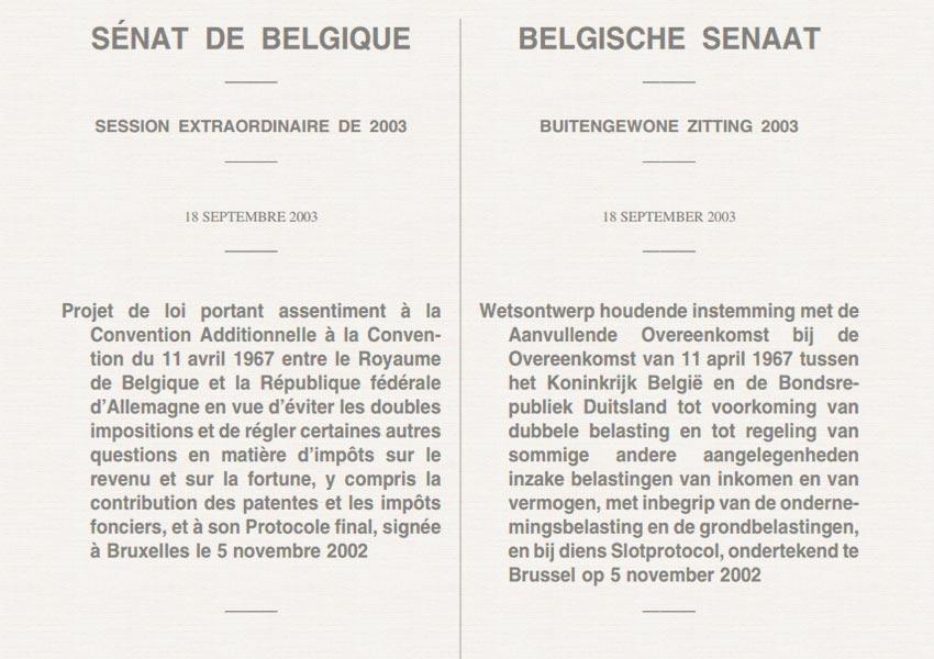 heffingsbevoegdheid huurinkomsten en meerwaardes na vervreemding bepaald in dubbelbelastingverdrag tussen belgie en duitsland