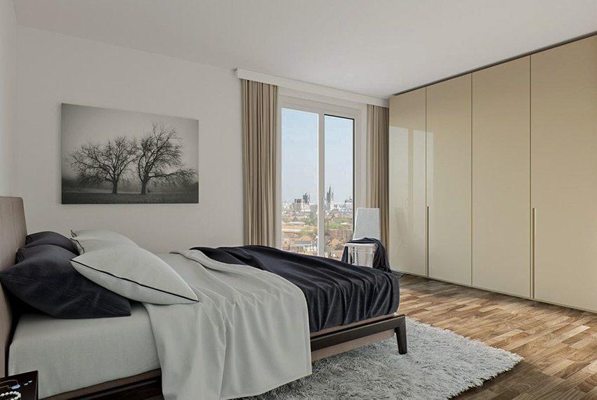 slaapkamer nieuwbouw serviceflats te koop gent