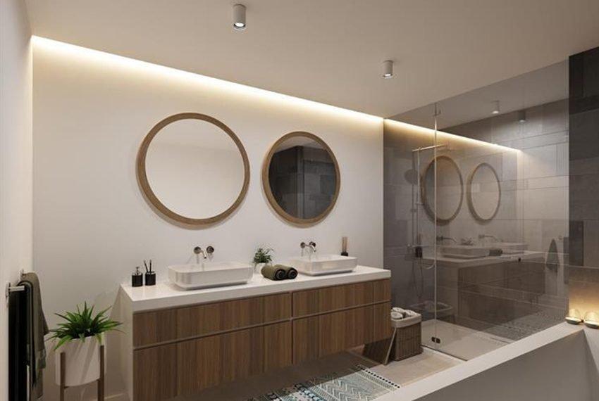 inrichting badkamer appartement als vastgoedbelegging in merelbeke