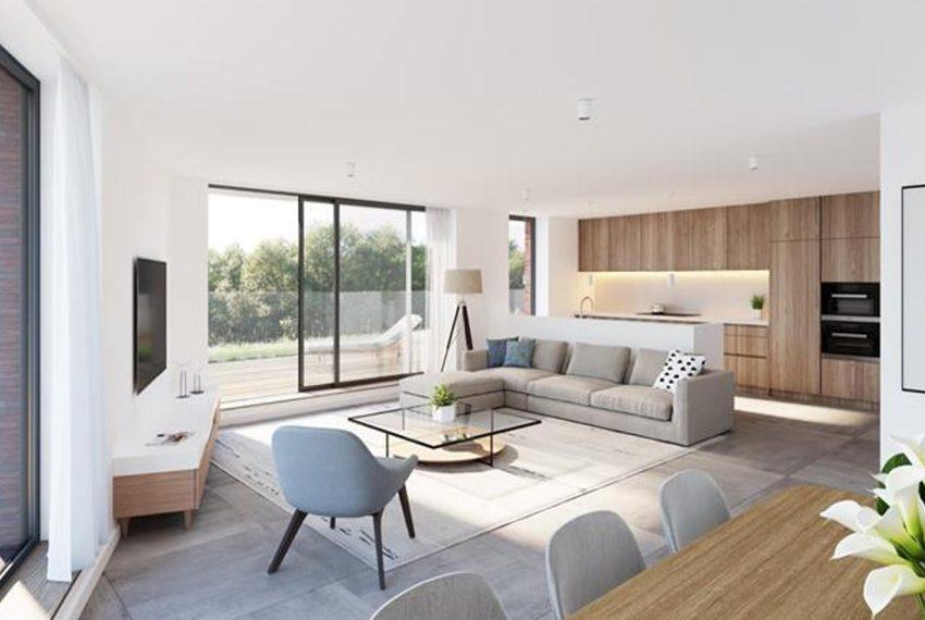 interieur design appartement merelbeke te koop voor privégebruik of als belegging