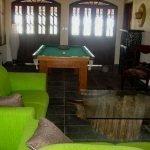 leefruimte van villa uitgerust met biljart opbrengsteigendom of vakantiewoning Poças Conde Brazilië