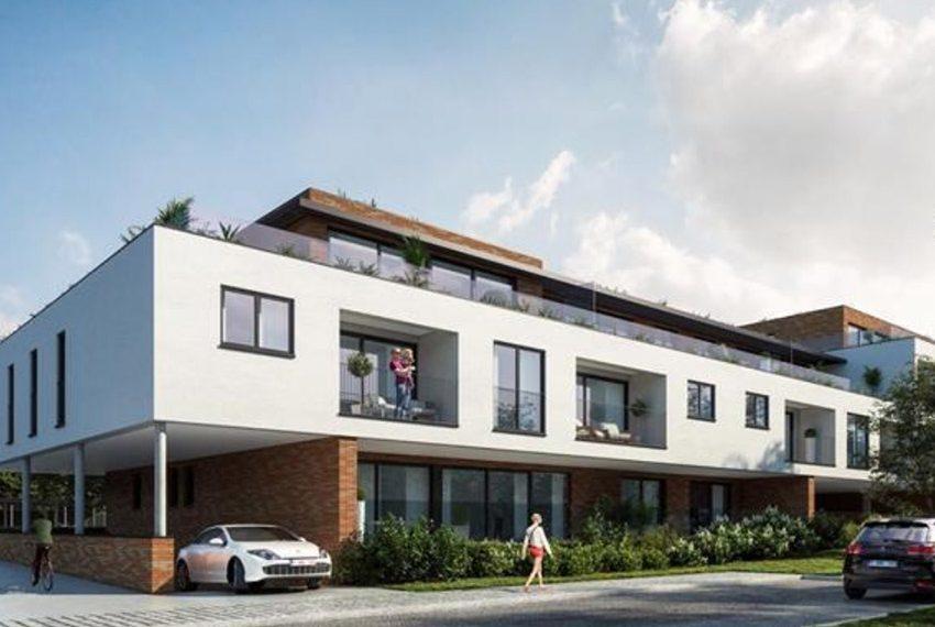 nieuwbouw residentie merelbeke ideaal als belegging voor verhuur