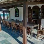 overdekt terras met aanpalende keuken ideaal voor heerlijke verse gerechten