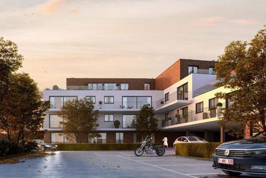 nieuwbouw appartementen te koop residentie m360 hundelgemsesteenweg merelbeke ideale ligging