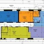 grondplan tweede verdieping studentenkamers leuven als investering
