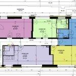 plattegrond derde verdieping studentenkamers en studio's voor beleggers en ouders van studerende kinderen