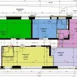 plattegrond eerste verdieping studentenkamers en studio's ideale belegging in leuven