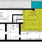 plattegrond niveau min1 gemeenschappelijke keuken residentie leuven investeren in studentenkamers