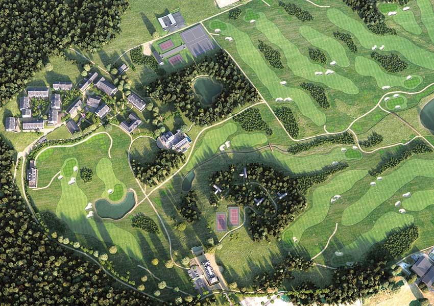 luxe vakantiepark met golfbaan studio's en appartementen te koop frankrijk regio limousin wyndham halcyon retreat golf en spa resort