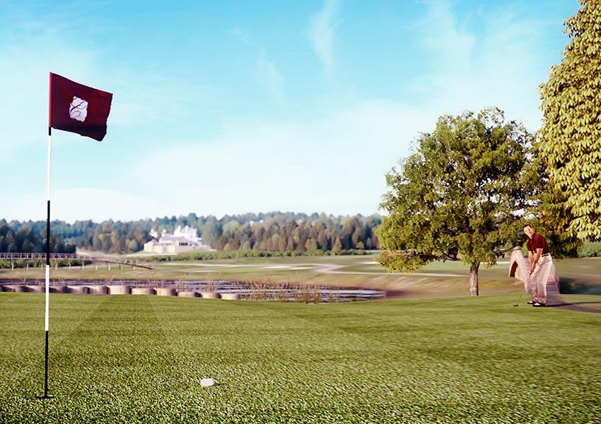 vakantiehuis op golfbaan frankrijk kopen als investering met 6 weken eigen gebruik en minimaal 7% rendement