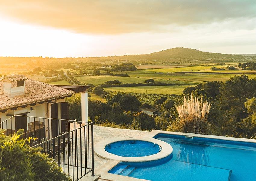 aankopen vakantiewoning met of zonder zwembad belangrijke keuze