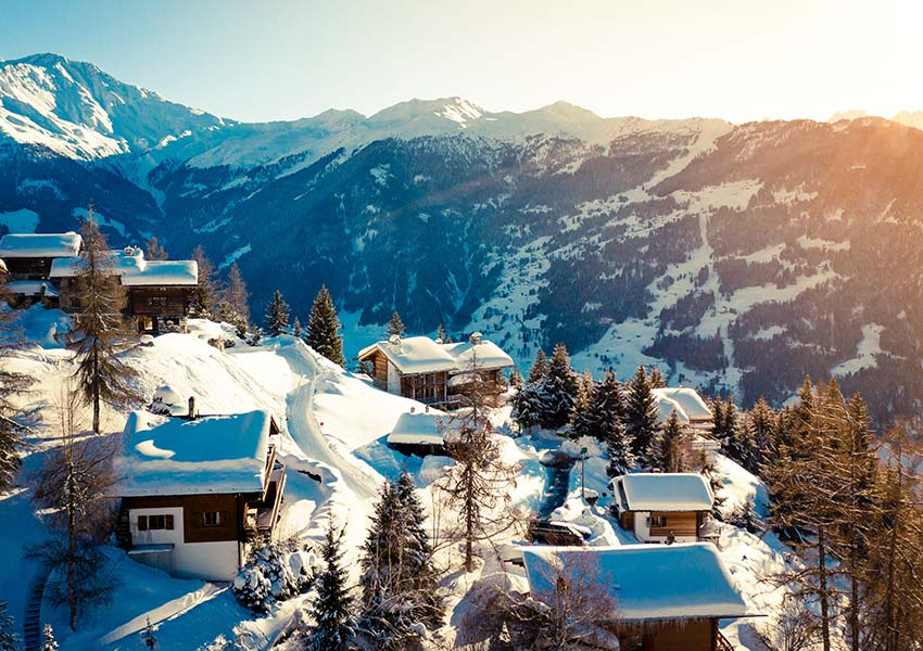 investeren in vakantiewoningen kan op diverse locaties zoals in skigebieden